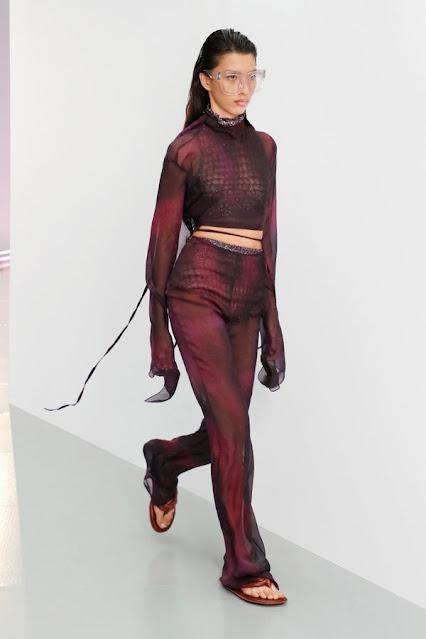 Acne Studios,  SS21, Fashion Show, Monochrome, trend report, fashion week, nyfw, Nyc, kelly fountain fashion