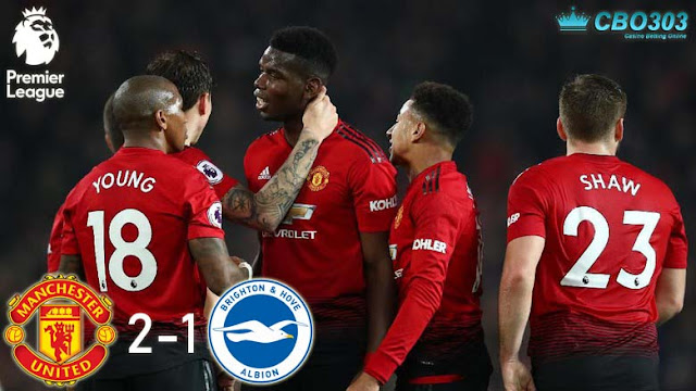Video Highlights dan Cuplikan Gol Manchester United vs Brighton & Hove Albion