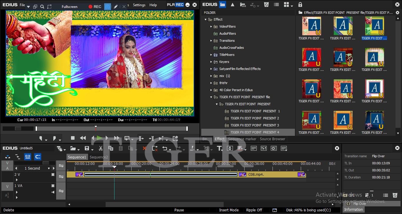 pinnacle studio wedding indian effects free download 3d tigerboy tutorial