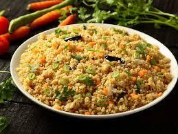 Dalia Salad in a plate