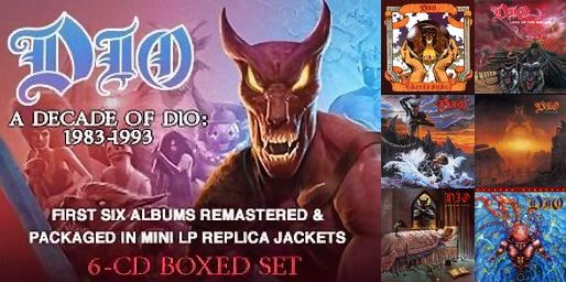 DIO - A Decade of DIO 1983-1993 6CD Boxset full