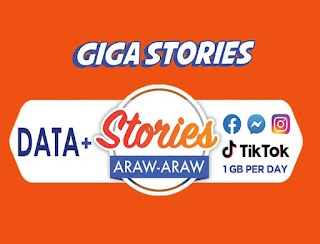 TNT Giga Stories – Facebook, Instagram and TikTok Access 1GB Every Day