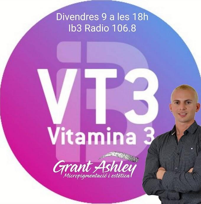 Grant Ashley participa al programa de Radio Vitamina3 de IB3