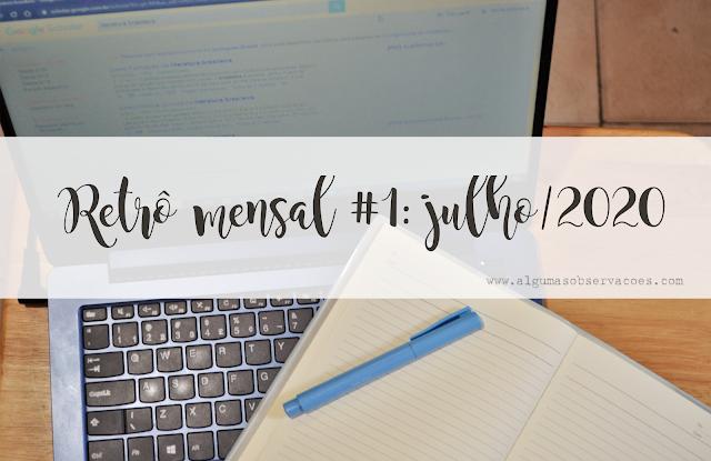 Computador, caderno e caneta resumem o trabalho do mês.