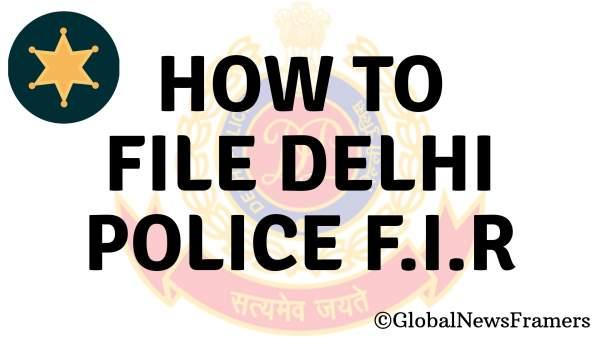 Delhi Police FIR Online