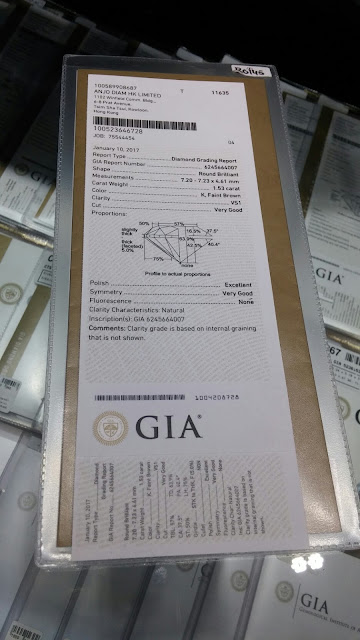 sertifikat berlian