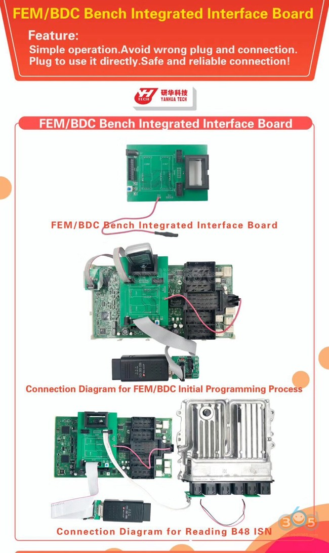 yanhua-acdp-fem-bdc-integrated-interface-board-1