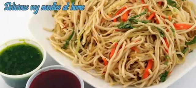 delicious veg noodles recipe