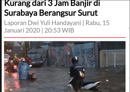 Banjir Surabaya