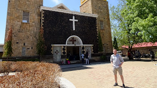 Juba Cathedral was busy as it was Easter weekend