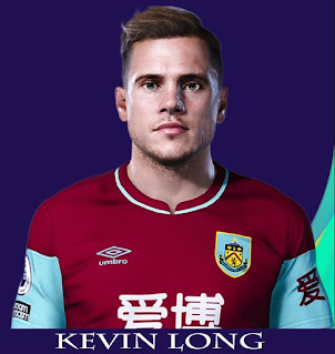 PES 2021 Faces Kevin Long by Rachmad ABs