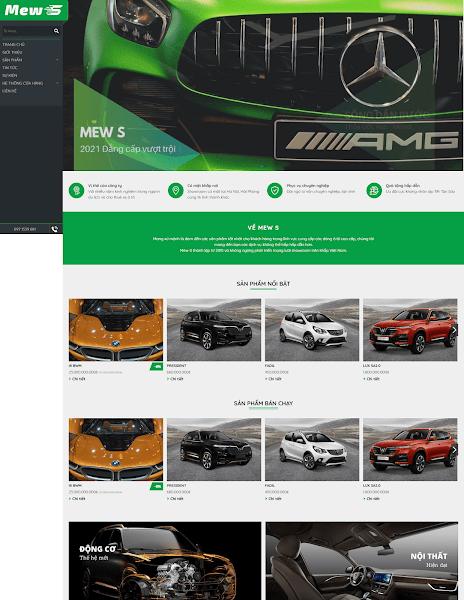 Theme Blogspot kinh doanh ô tô và phụ kiện - Blogspotdep.com