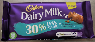 Cadbury Dairy Milk 30 percent less sugar
