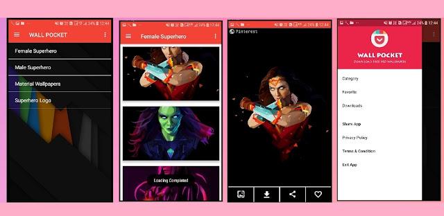 Wallpaper app Aia file for kodular | Free Aia File for Kodular