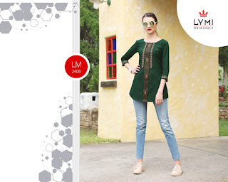 Lymi Motion Vol 2 Cotton Western Short Tops Collection