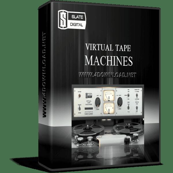 Slate digital virtual tape machines v1. 1. 9. 9 full version.