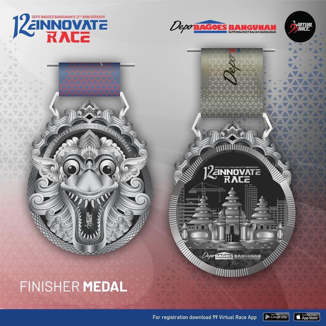 Medal � 12einnovate Race • 2021