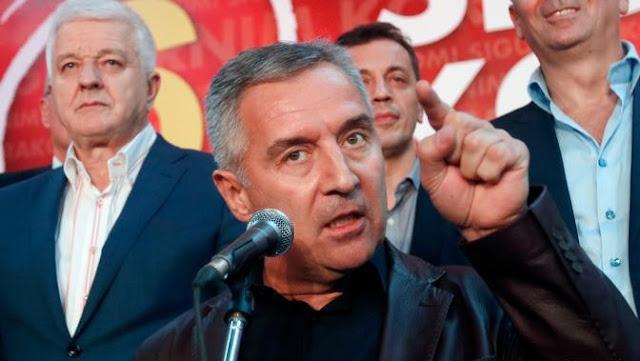 Djukanovic blames Albania and Kosovo for his party loss in Tuzi