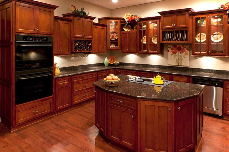 cherry-wood-kitchen-cabinets