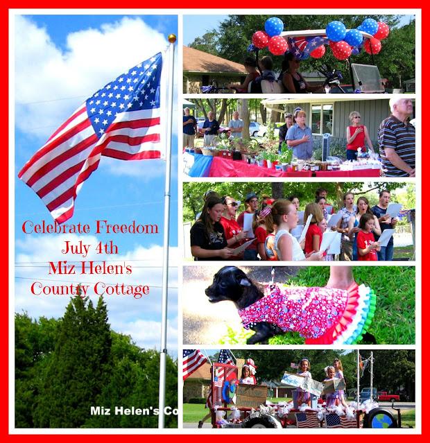 Celebrate Freedom at Miz Helen's Country Cottage