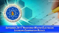 Registered Electrical Engineer September 2017 Board Exam
