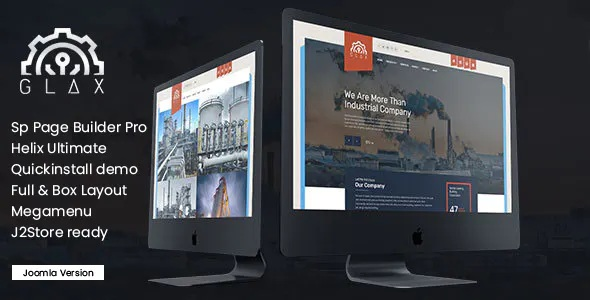 Best Industry Joomla Template With Page Builder