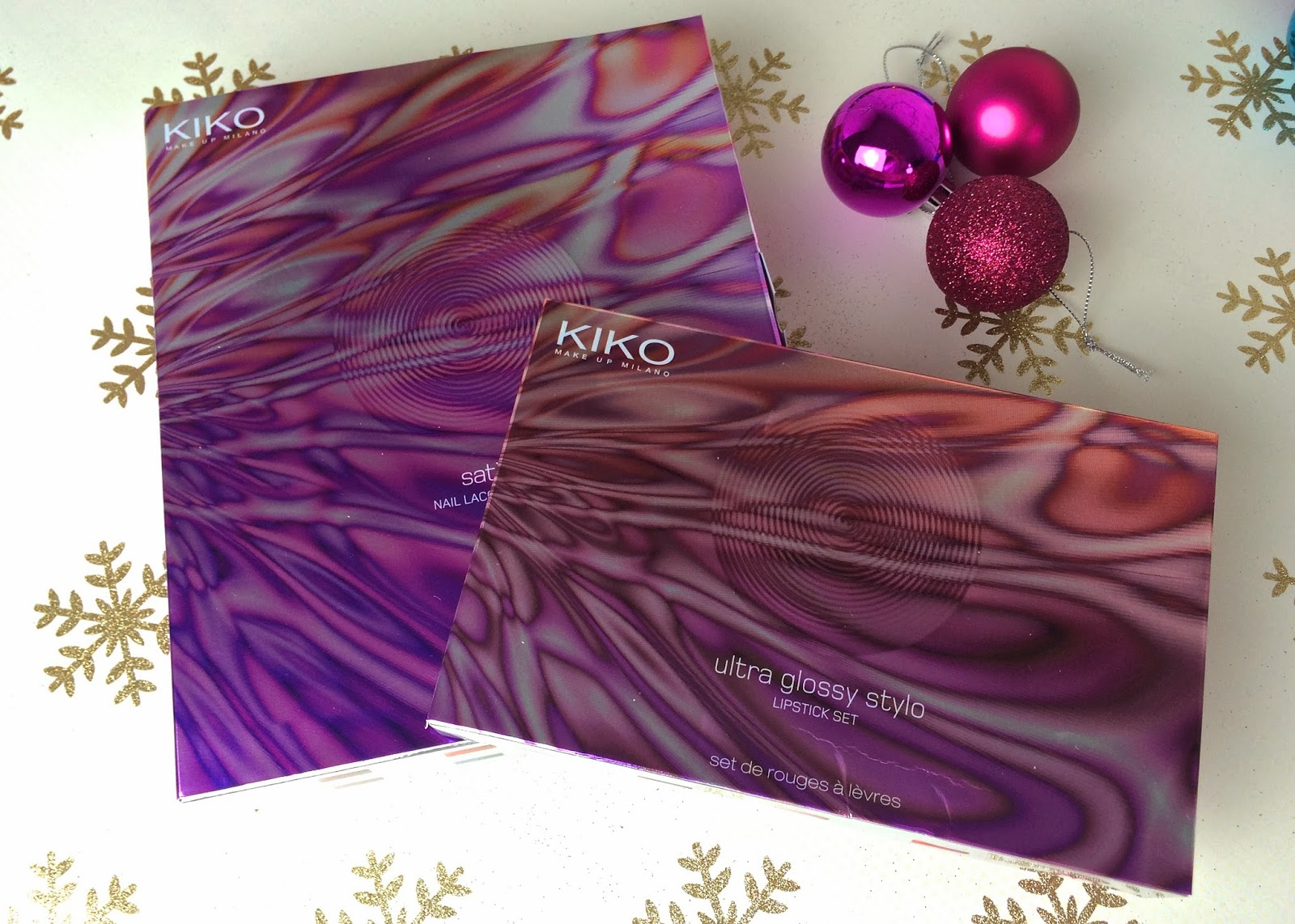 KIKO digital emotion holiday gift sets review and swatches