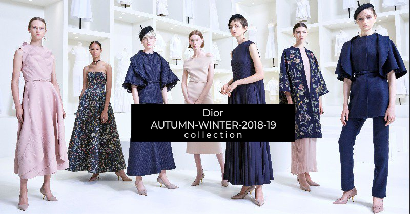 ec1831ce5a08 Dior Haute Couture Autumn-Winter Collection 2018-2019