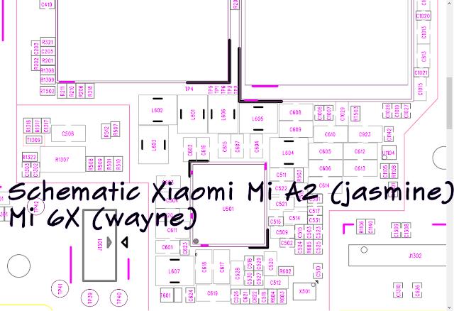 Full Schematic Xiaomi Mi A2 (jasmine)/Mi 6X (wayne)_Free Download