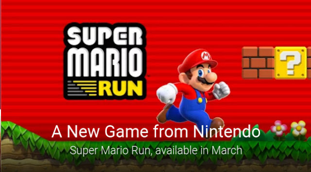 Super Mario Run for Android Available in March 2017