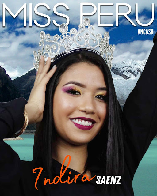Indira Leyssi Sáenz Mejía es Miss Perú Ancash 2021