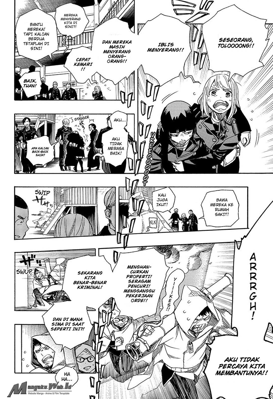 Ao no Exorcist Chapter 95-31
