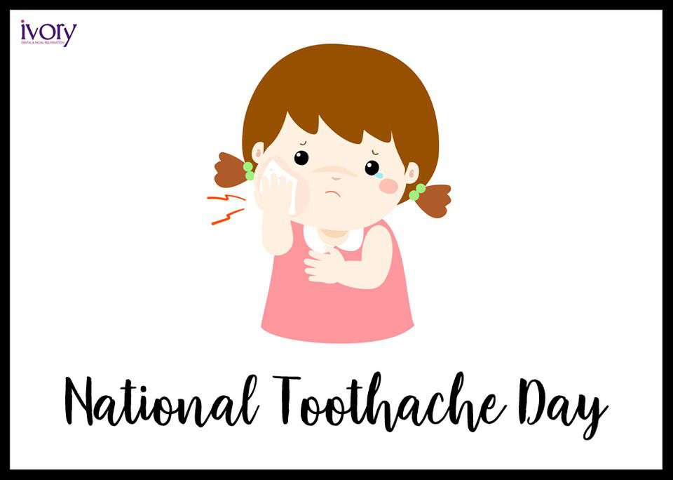 National Toothache Day Wishes Unique Image