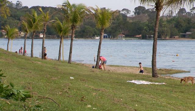Barreira sanitária educativa busca manter controle de pessoas e ordem no balneário de Martinópolis neste fim de semana