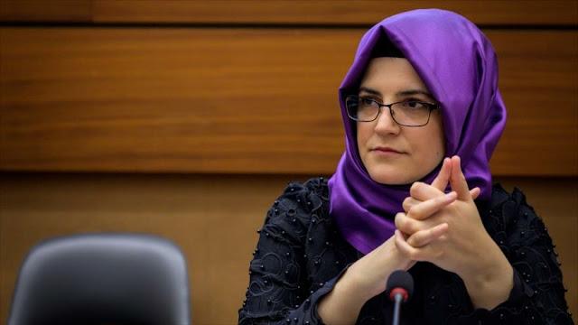 Novia de Khashoggi pide a la ONU que investigue su homicidio