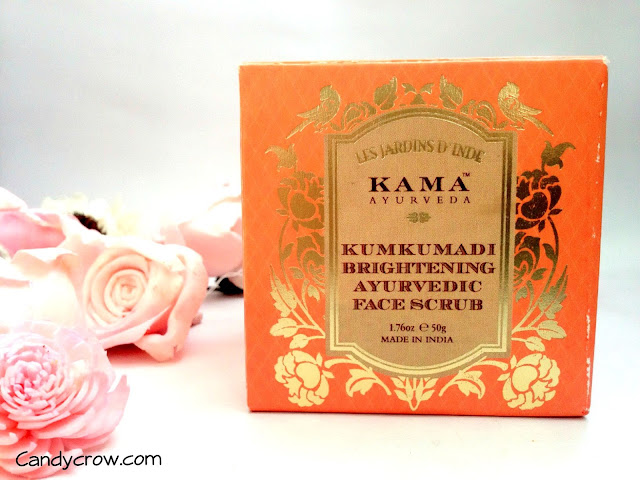 Kama Kumkumadi Brightening Ayurvedic Face Scrub Review photos