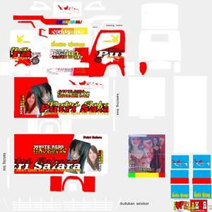 Livery Truck Canter Box Muhklas Putri Safara