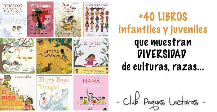 libros infantil multiculturalidad diversidad razas