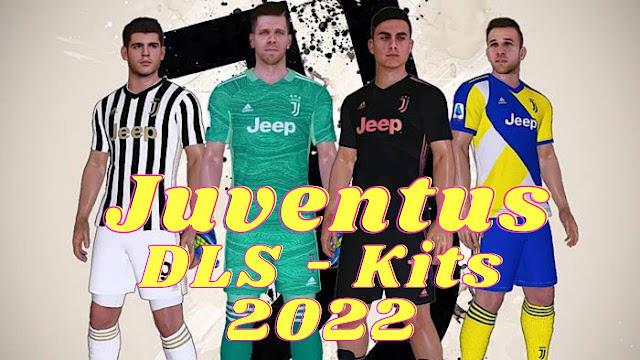 Juventus DLS Kits 2022 Dream League Soccer FTS 22