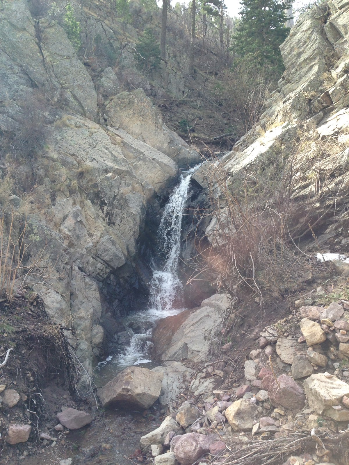 Southern New Mexico Explorer  Carbonate Creek Waterfalls