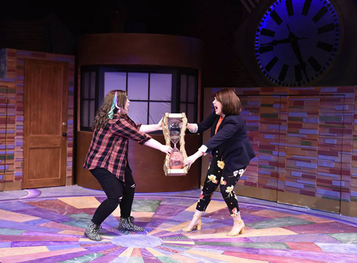 "Abby Holland (Ellie), Jennifer Alice Acker (Katherine) | ""Freaky Friday"" 