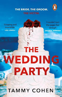 Front cover of the novel The Wedding Party by Tammy Cohen