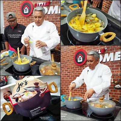 Dato Chef Wan Live-Cooking Session Preparing His Thai Pineapple Shrimp