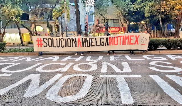 AMLO insta a buscar ya la solución definitiva al conflicto laboral en Notimex