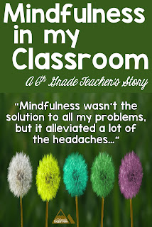 Mindfulness wasn't the solution to all my problems, but it alleviated a lot of the headaches...""