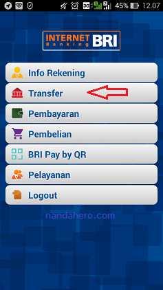 cara transfer uang lewat internet banking bri terbaru 2018