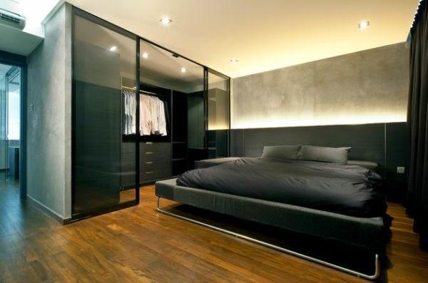 dormitorios modernos para solteros dormitorios colores y. Black Bedroom Furniture Sets. Home Design Ideas