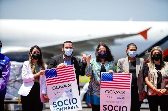 EEUU donó a El Salvador un segundo lote de vacunas Moderna