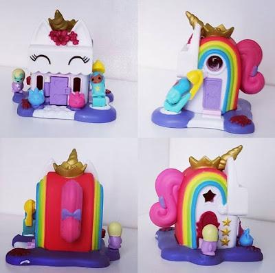 Кукольный домик в стиле единорогов Nanables игрушки для девочек 2019
