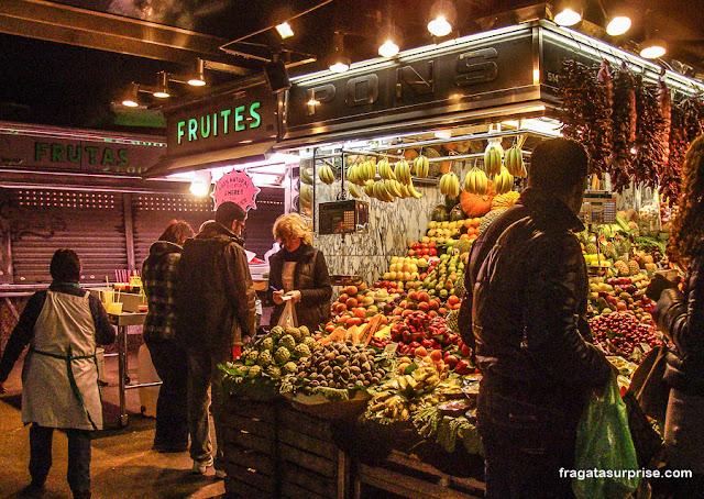 Mercado da Boqueria, Barcelona